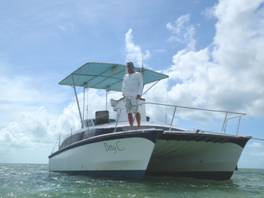 unser boot in Key West