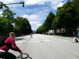 Eine Stadt ohne Autos