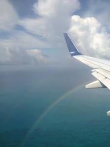 Regenbogenflug